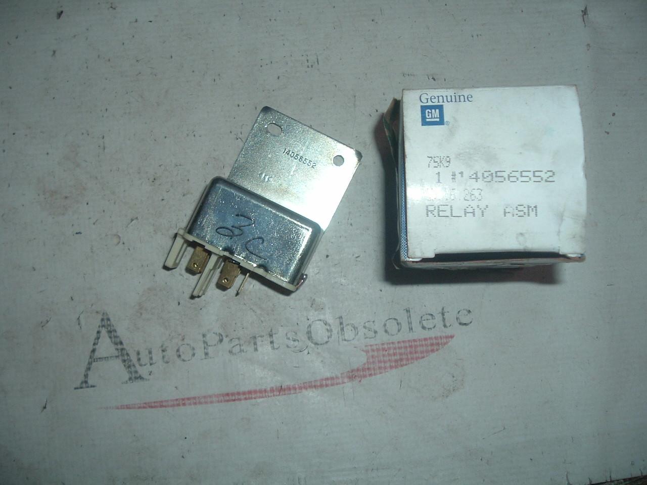 1977 78 79 70 81 82 83 85 87 89 91 chevrolet gmc truck power door lock relay 370869 14056552 (z 14056552)