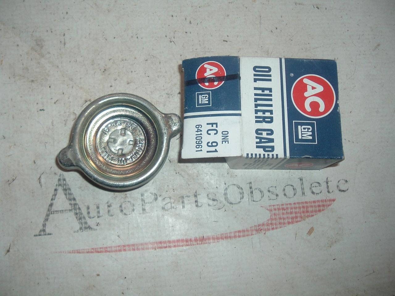 1965 66 67 Chevrolet corvette AC brand oil filler cap fc91 6410961 (z 6410961)