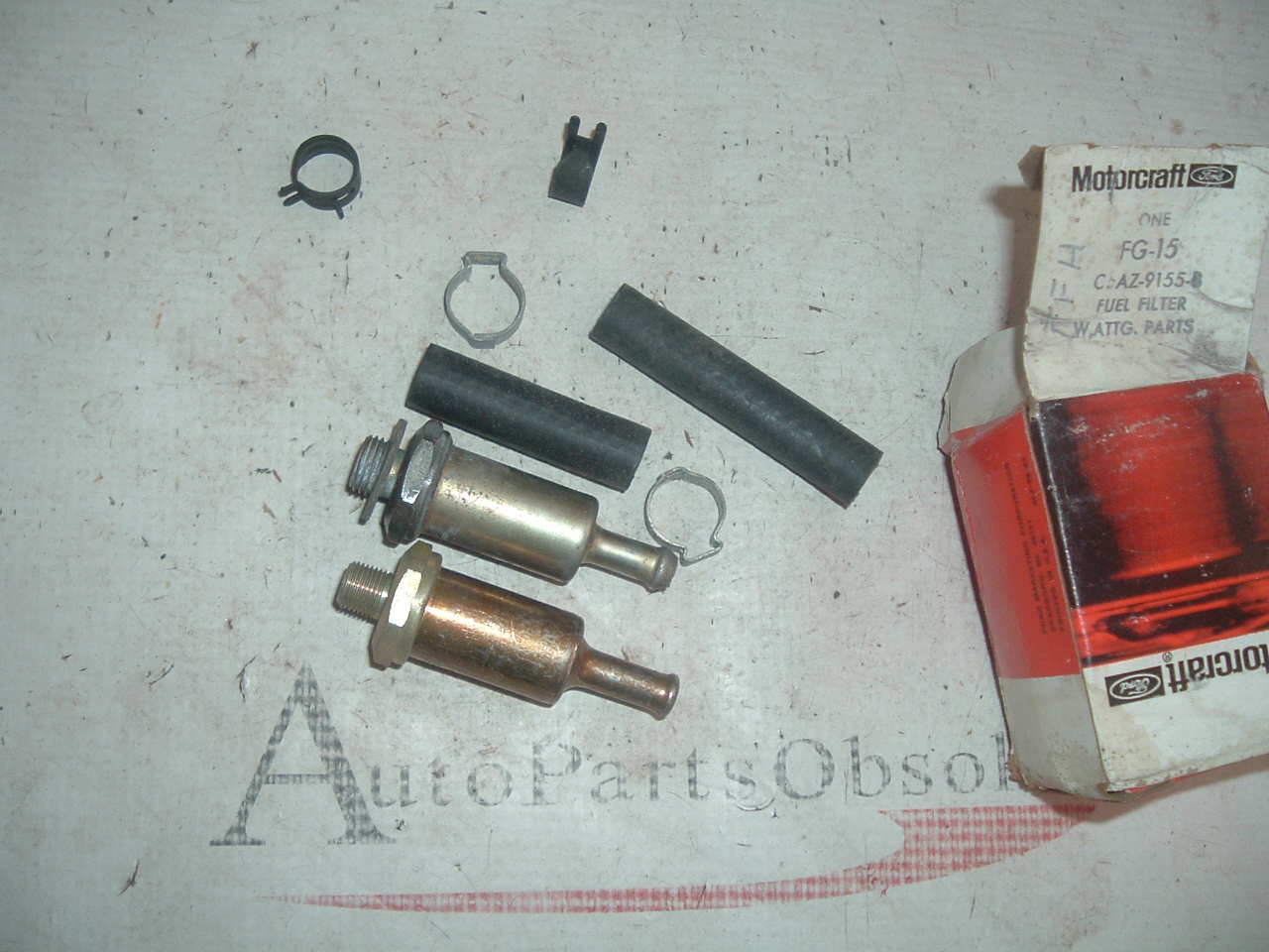 1965 66 67 68 69 70 ford mercury fuel filter nos ford # C5AZ-9155-B (z c5az9155b)