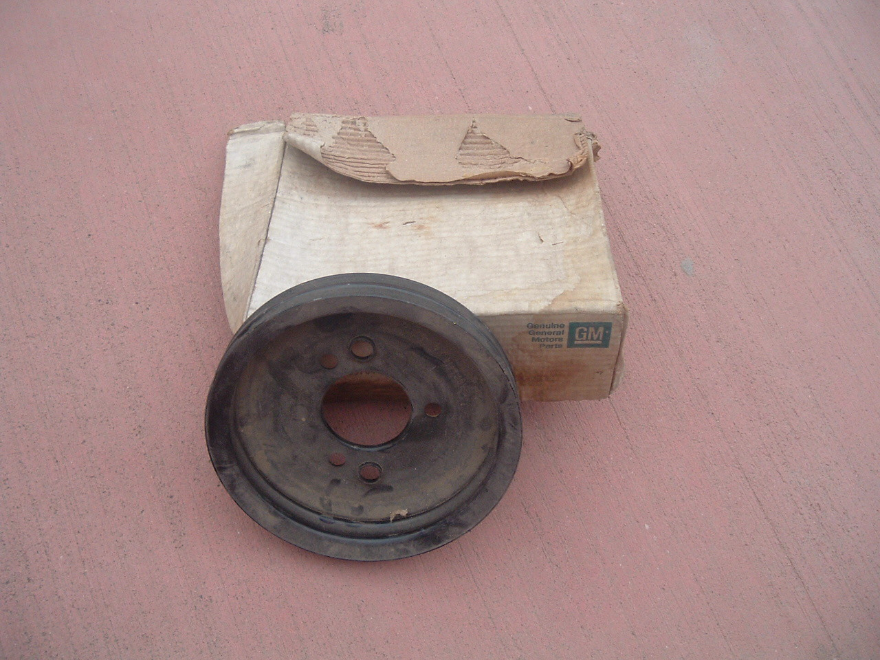 1964 65 66 67 68 chevelle camaro engine crank pulley nos gm 3874414 (z 3874414)