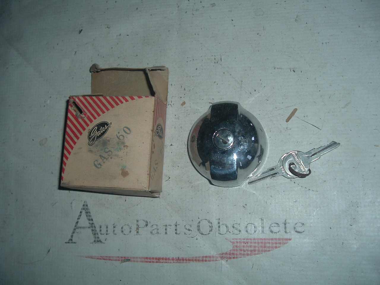 1953 54 dodge plymouth chrysler,desoto locking gas cap GAS-60 (z gas60)