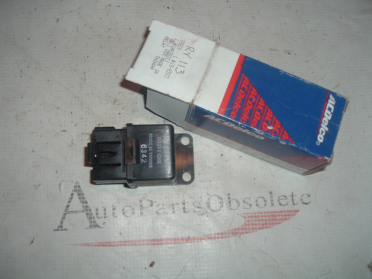 82 84 86 88 chevrolet pontiac buick fan relay # 10038311 (z 10038311)