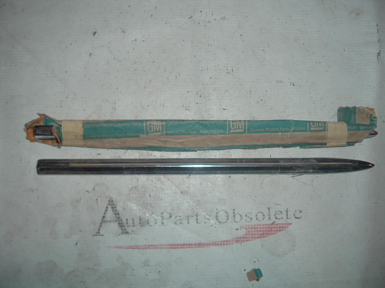 1972 chevrolet impala kingswood fender molding nos
