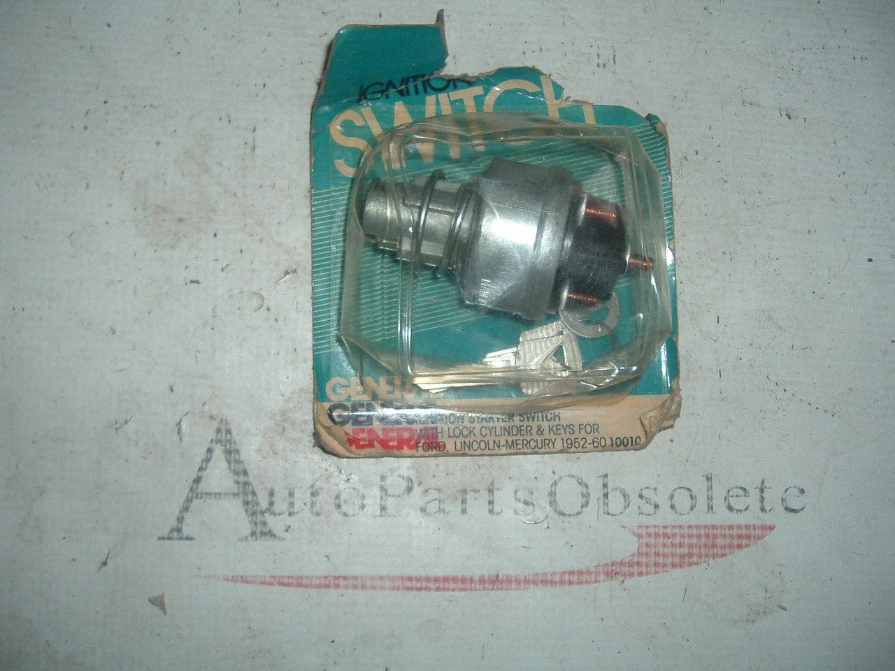 1952 53 54 55 56 57 58 59 60 Ford & Thunderbird Ignition Switch replaces FoMoCo # B5A-11572-A (1) (z b5a-11572-rpl)