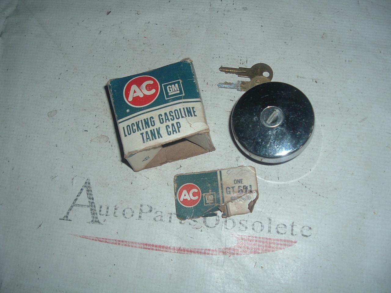 1937 -70 Chevrolet & Gmc Truck nos gm locking gas cap 6410410 GT69L (z gt69l)
