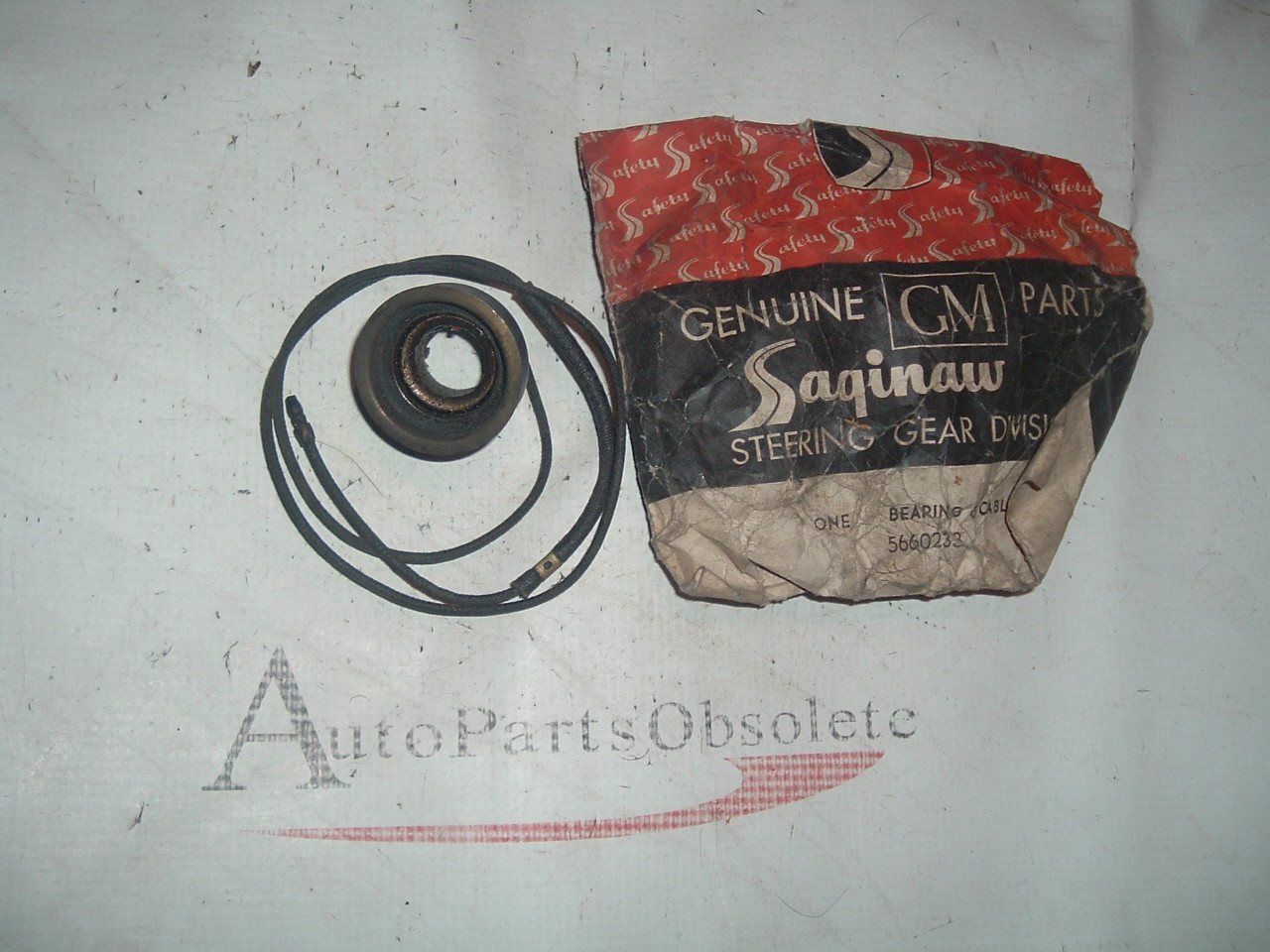 1949 51 53 55 57 59 62 chevrolet steering column bearing contact # 5660233 (z 5660233)