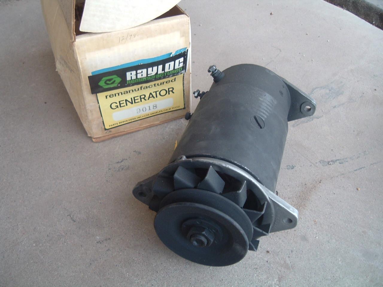 1955 56 57 58 59 pontiac new rebuilt generator # 9018 (z 9018)