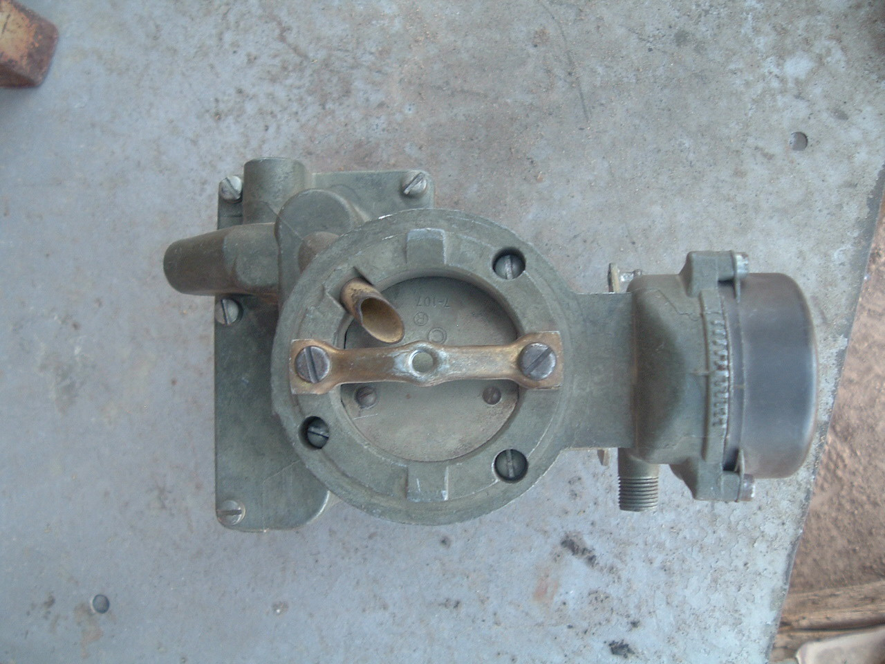 1970 71 72 ford and ford truck carter 1 bar carburetor 4884S (1) (za 4884s)