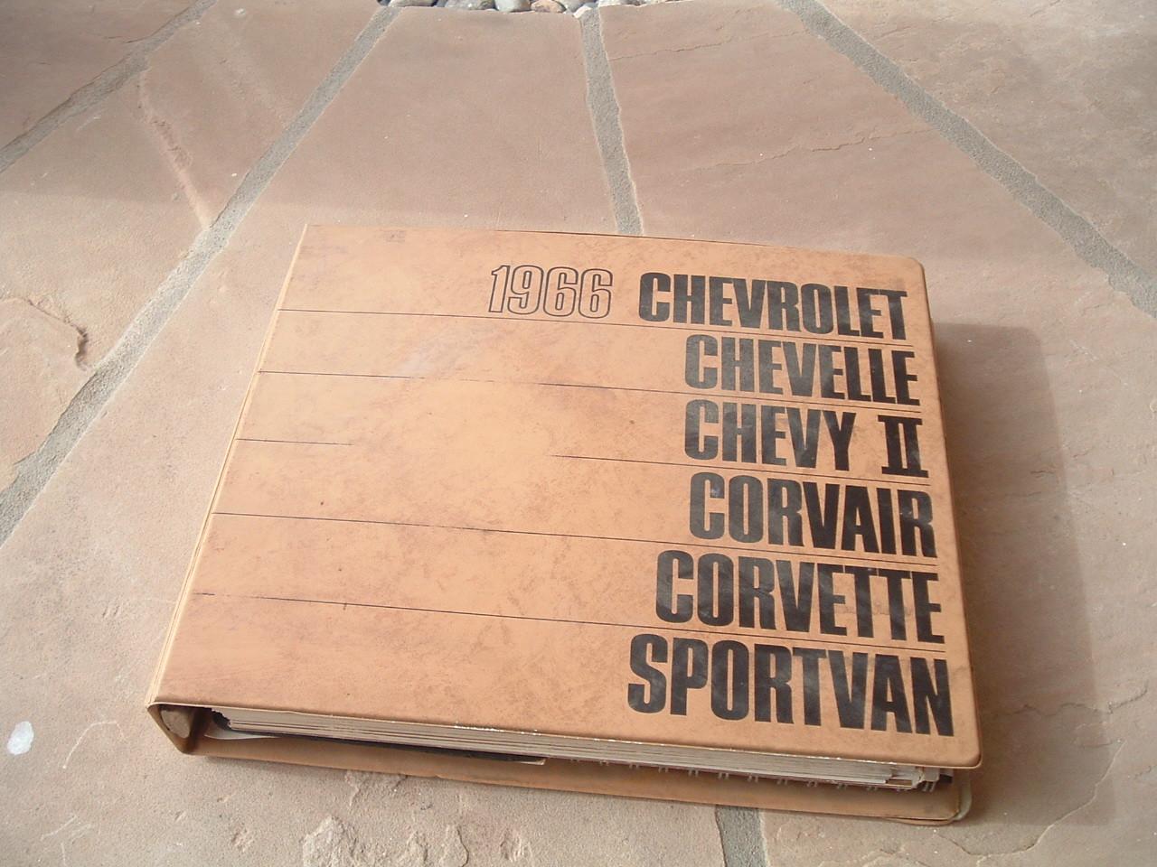 1966 Chevrolet Dealer Showroom Album Corvette nova chevelle (z 66chevydealerbook)