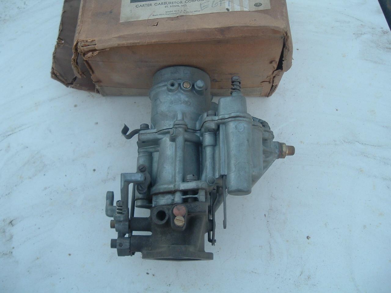 1935 chrysler 1 barrel carburetor carter Ball & Ball E6F1 (z e6f1)