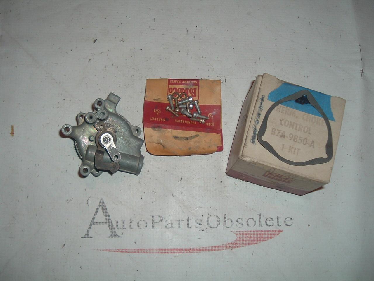 1957 58 59 60 61 62 ford / thunderbird holley carburetor choke B7A-9850-A (z b7a9850a)