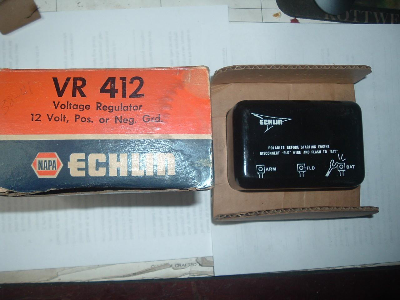 1957 1958 1959 1960 1961 1962 1963 1964 ford edsel voltage regulator (z vr428)