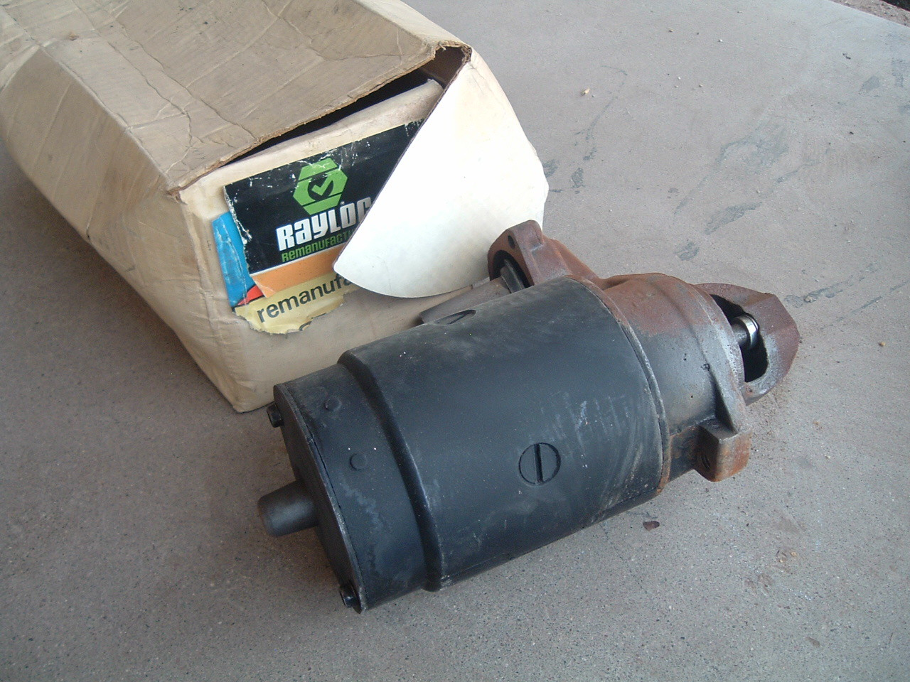 View Product1965 66 67 chevrolet GMC truck starter delco rebuilt 1117020 (z 1117320)