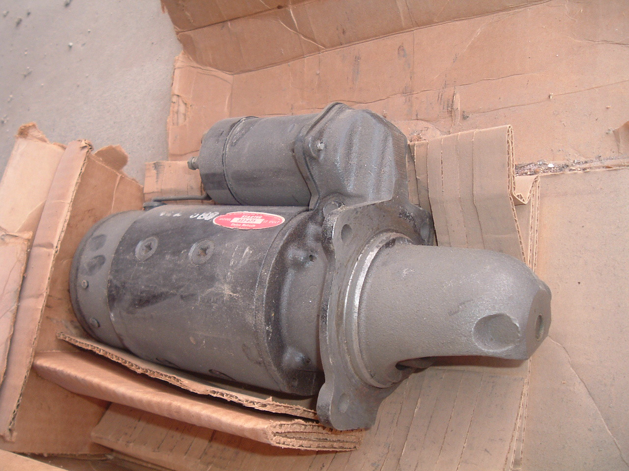 View Producthyster caterpillar tractor ac delco starter gm # 323-675 323675 (z 323-675)