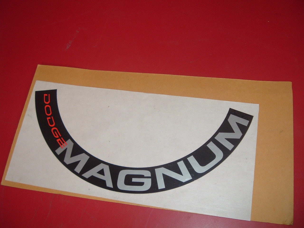 1988 89 90 91 92 93 94 dodge dakota pickup truck dodge magnum decal NOS mopar (z dodgemagnum)
