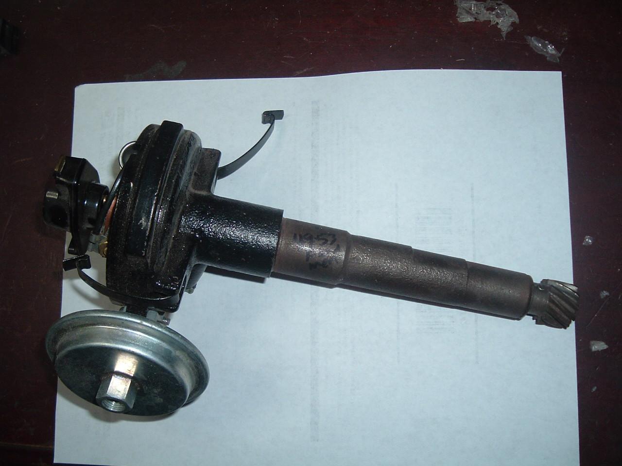 1949 50 51 52 ford mercury flathead v-8 rebuilt distributor (z 49-53forddist)