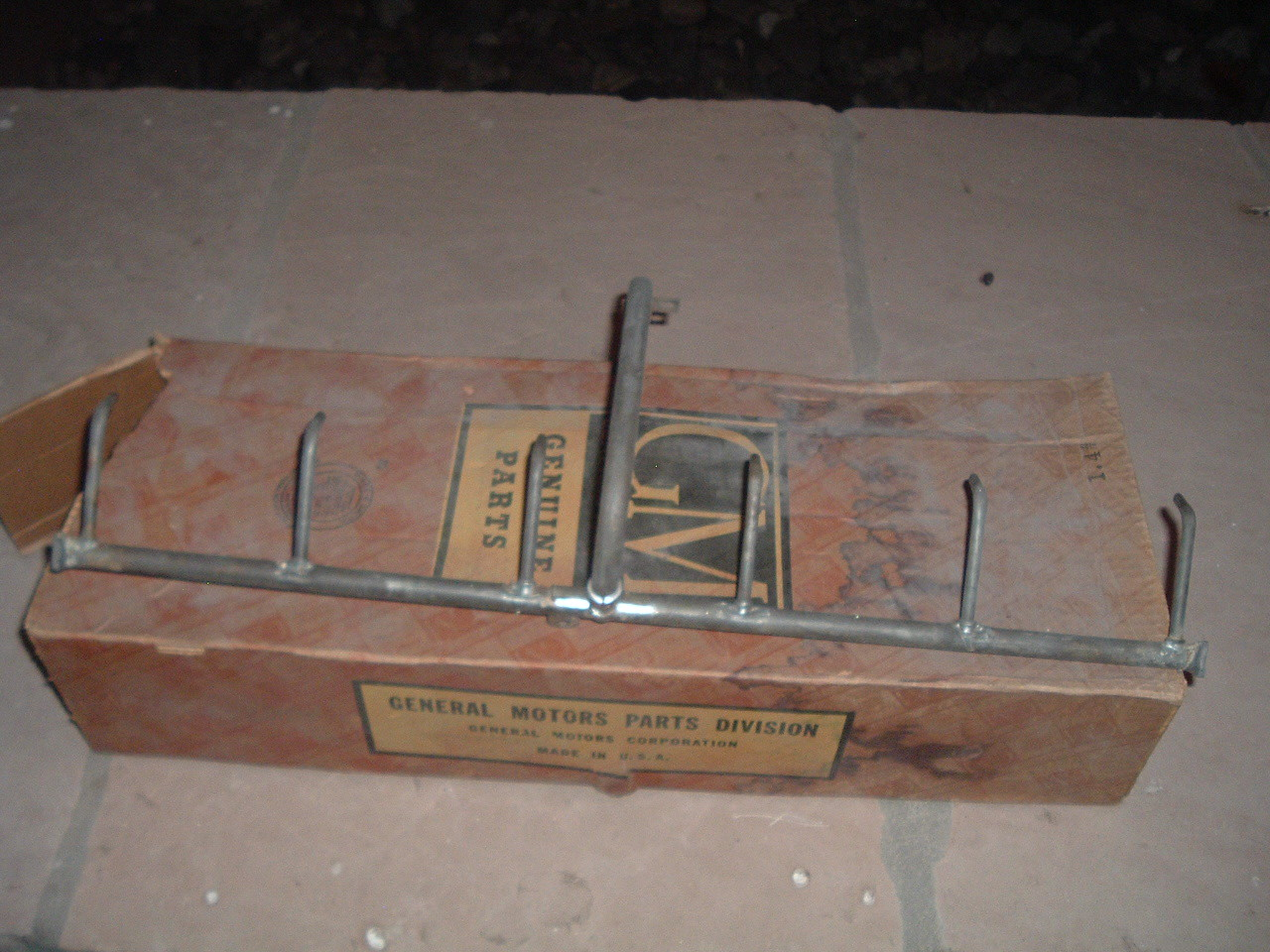 1940 41 42 46 47 48 49 50 51 chevrolet oil pan thru pipe nos gm 3835225 (z 3835225)