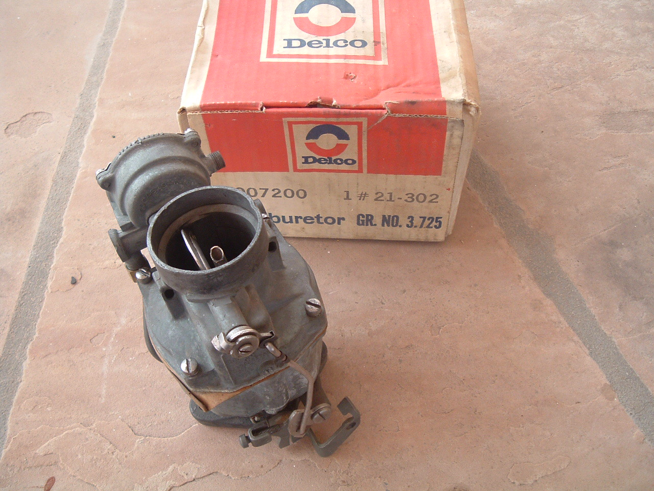 1950 51 52 53 54 55 56 chevrolet carburetor new gm 7007200 (z 7007200)