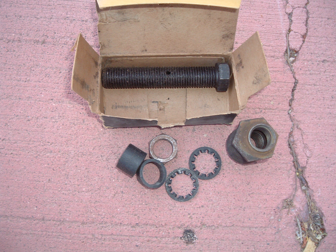 View Product1955 1956 oldsmobile upper control arm knuckle pin kit nos gm 567113 (z 567113)