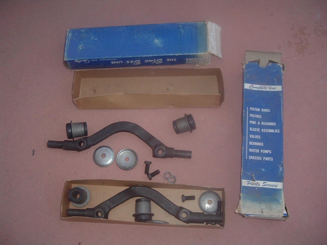 1958 59 60 61 62 63 64 chevrolet impala upper control arm suspension shaft kit 1pr (z fa264-265)