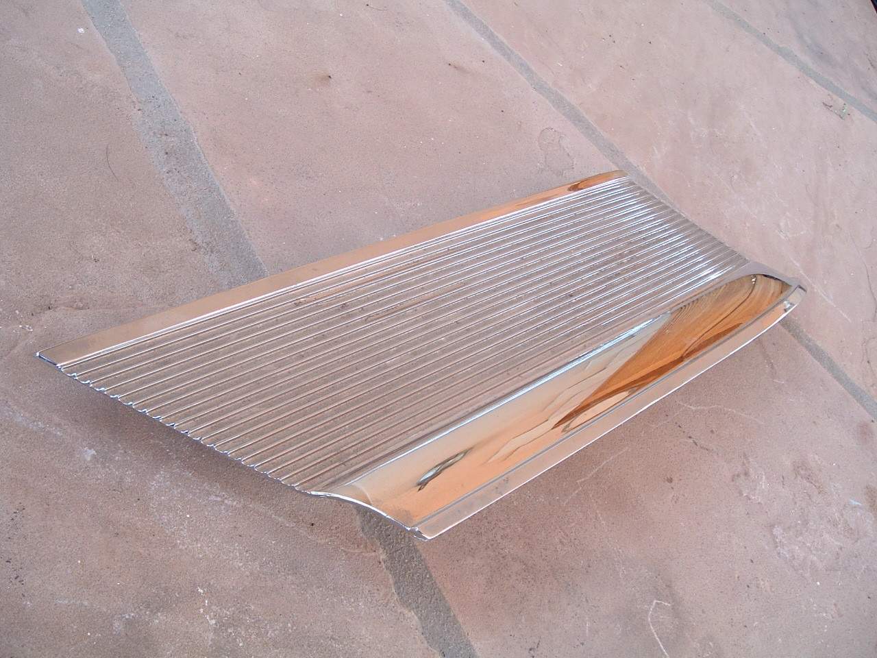1963 ford galaxie sail panel molding nos ford # C3AZ-62517A21-A