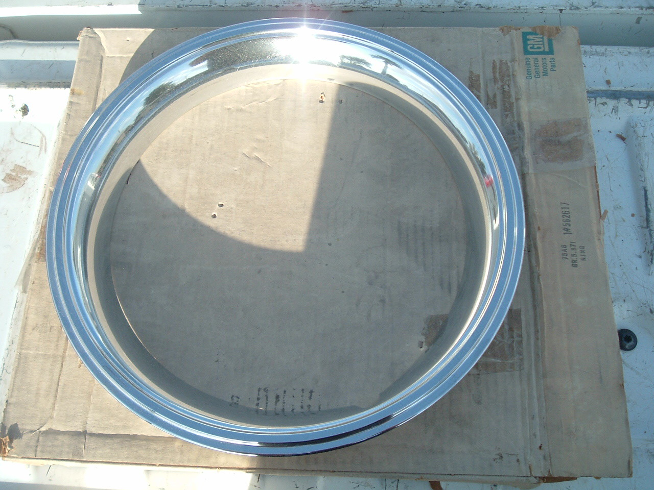 View Product1984 85 86 87 88 firenza nos gm Trim Rings nos gm 562617 (z 562617)