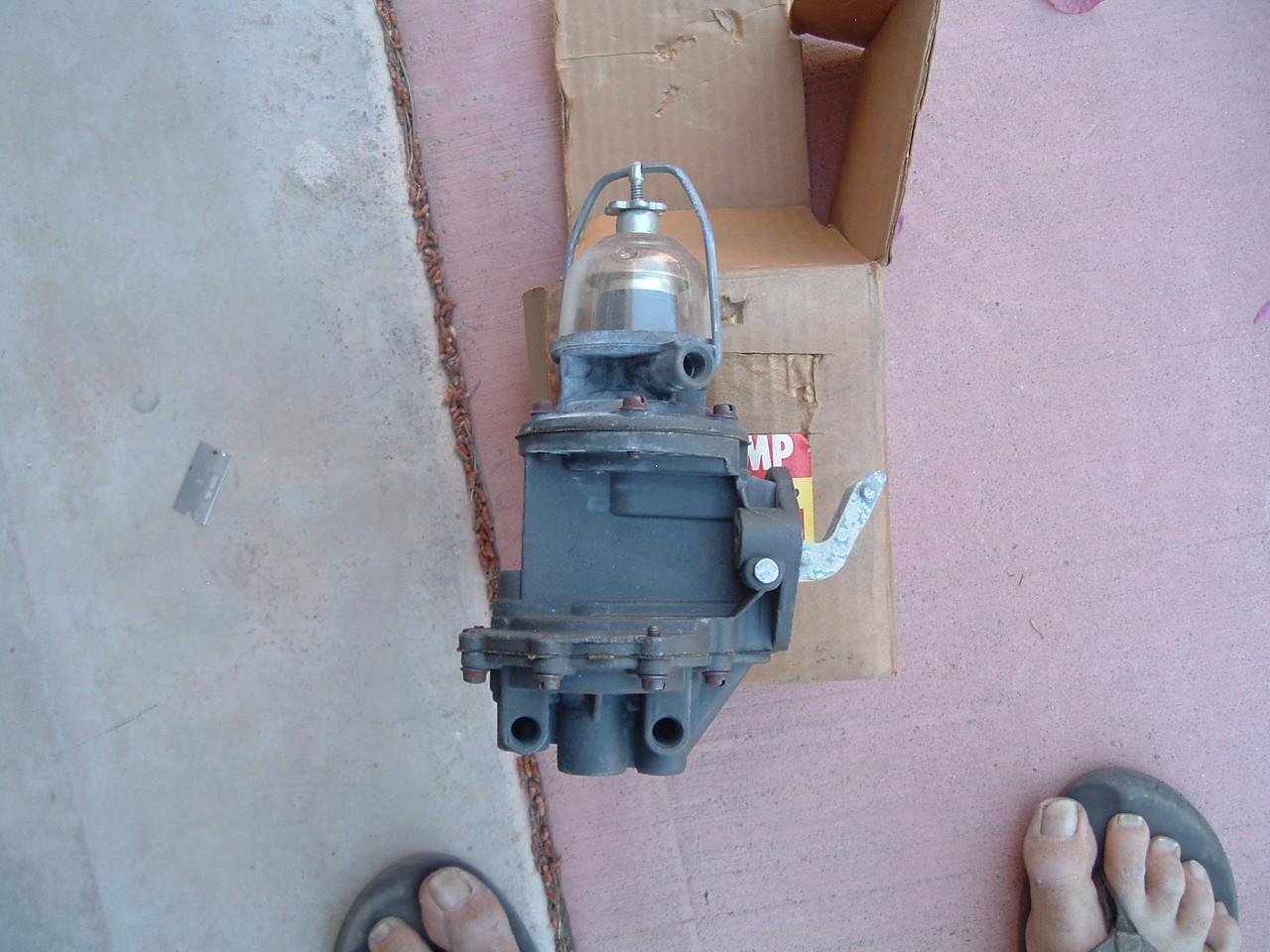 View Product1952 1953 1954 Chevrolet double action fuel pump 9797 (1) (z 9797rb)