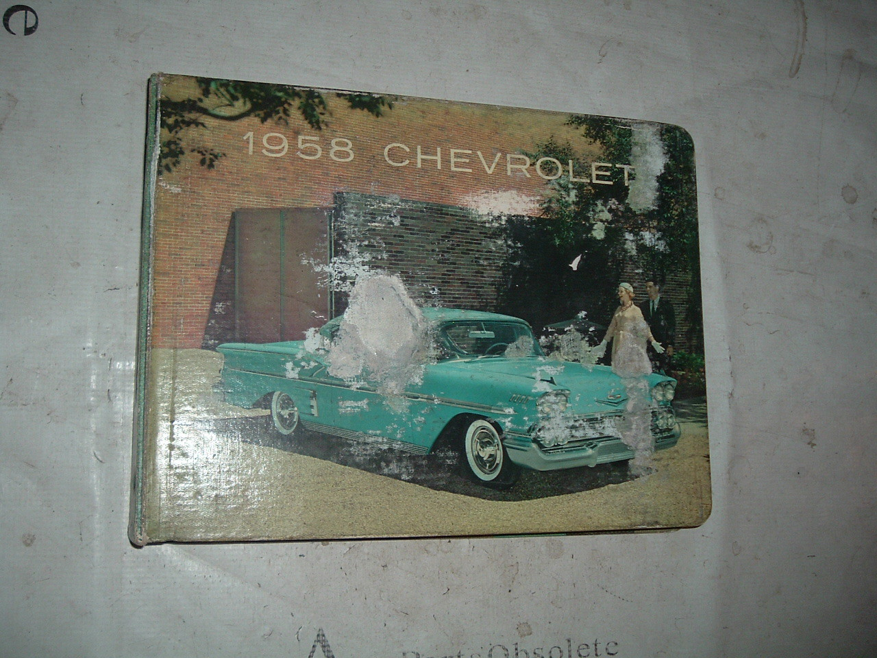 1958 Chevrolet Dealer Showroom Album Corvette belair biscayne nomad (z 58chevydealerbook)