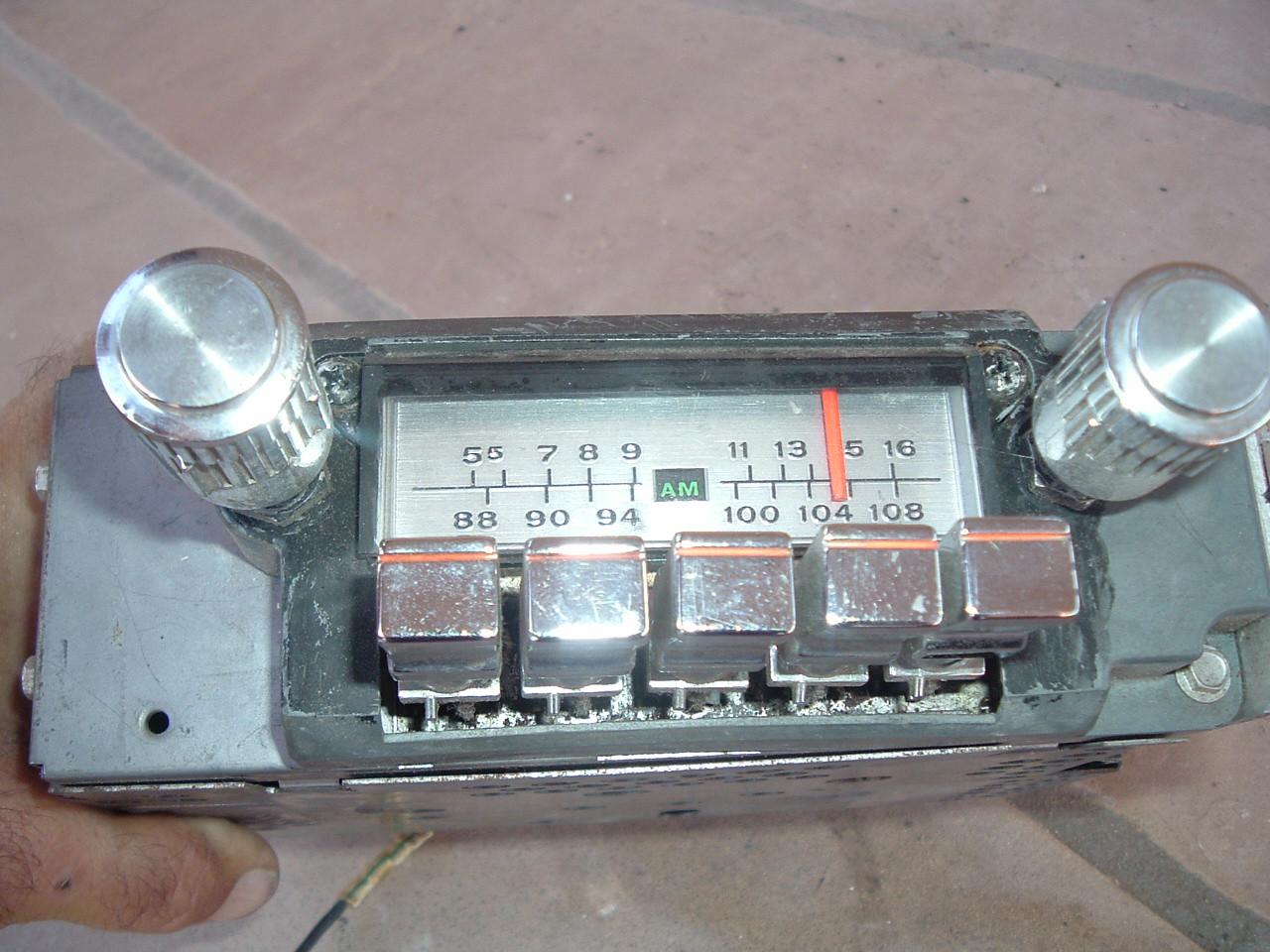 1964 65 66 ford thunderbird factory am/fm radio original (z 64-6 tbird radio)