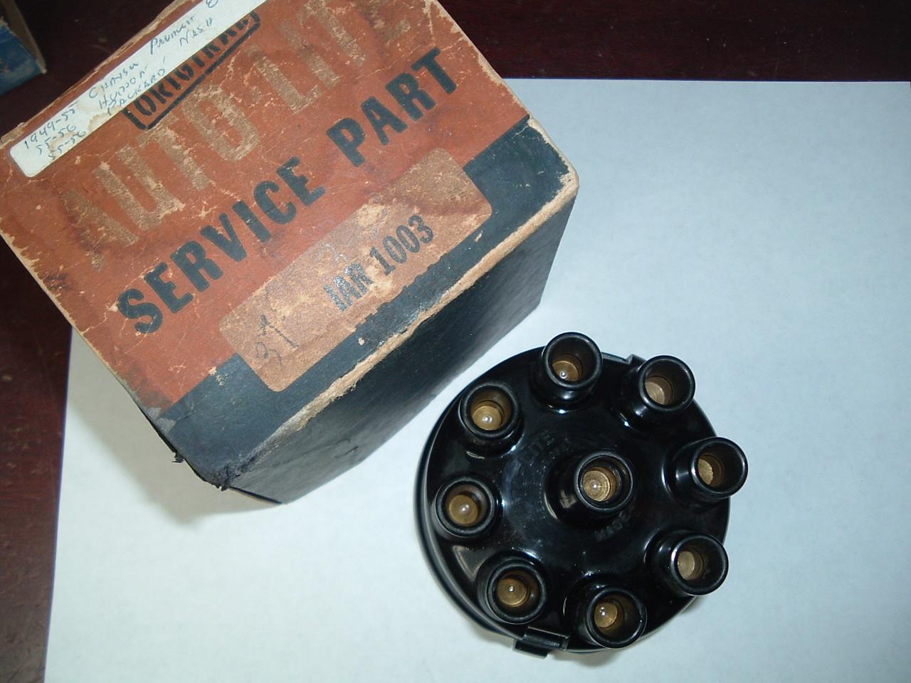 1949 50 51 52 5354 Chrysler Packard autolite script distributor cap IAR-1003 (z Iar1003)