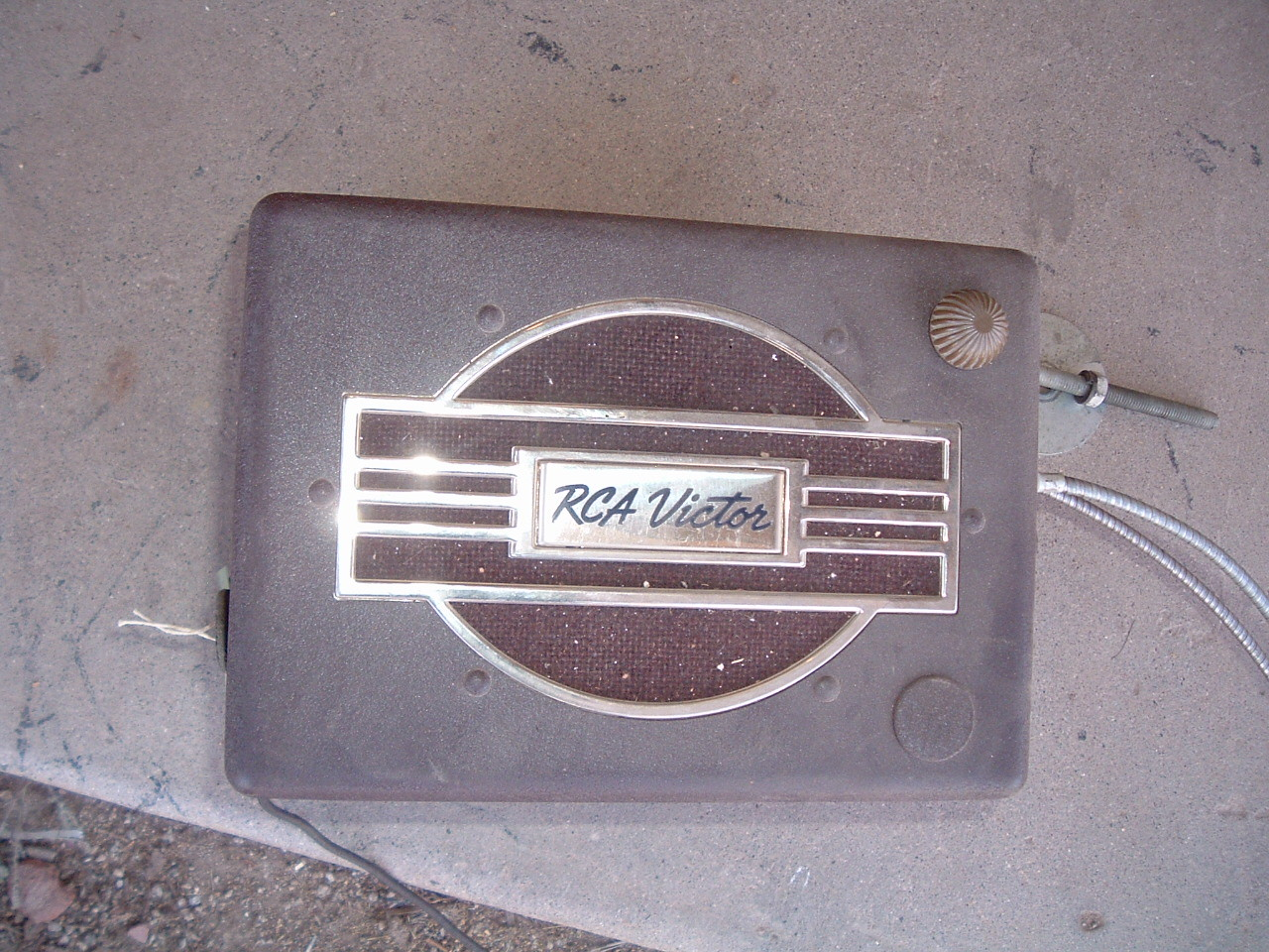 1938 RCA victor car radio new model # 8M3 (z 8m3)