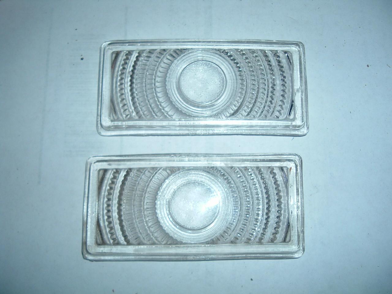 1950 ford park light /turn signal lens glass new pr OA-13208 (z oa13208)