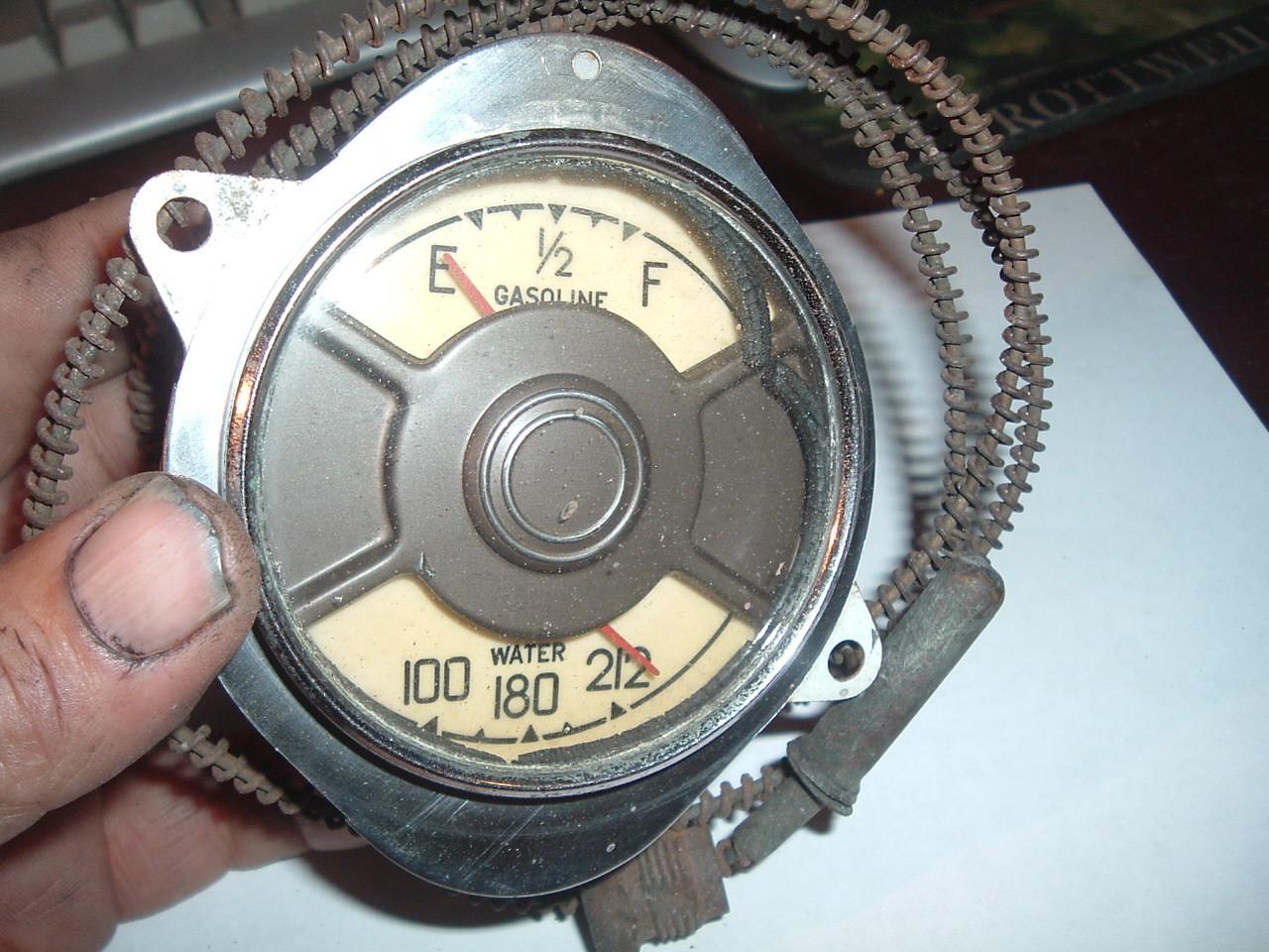 1936 packard 120 gauge dash cluster (z 36packgauge)