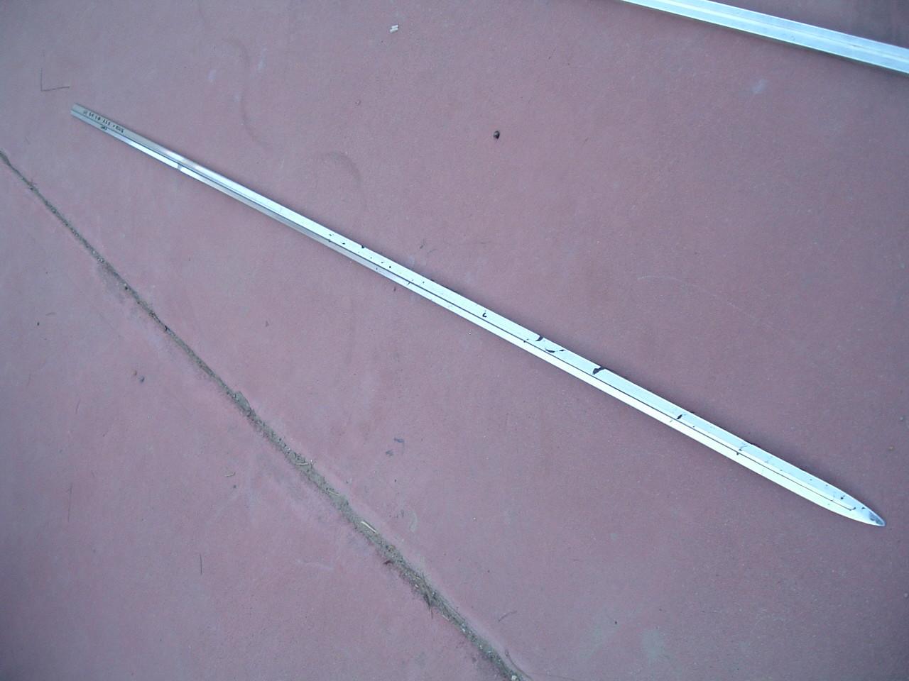 1964 chevrolet belair quarter panel molding nos gm # 3851596 (z 3851596)