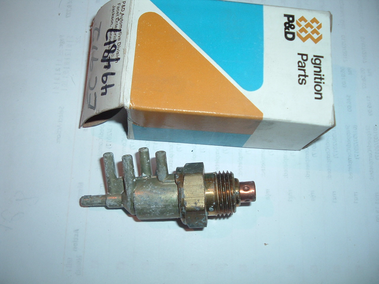 1974 pontiac ported vacuum switch 494817 (z 494817)