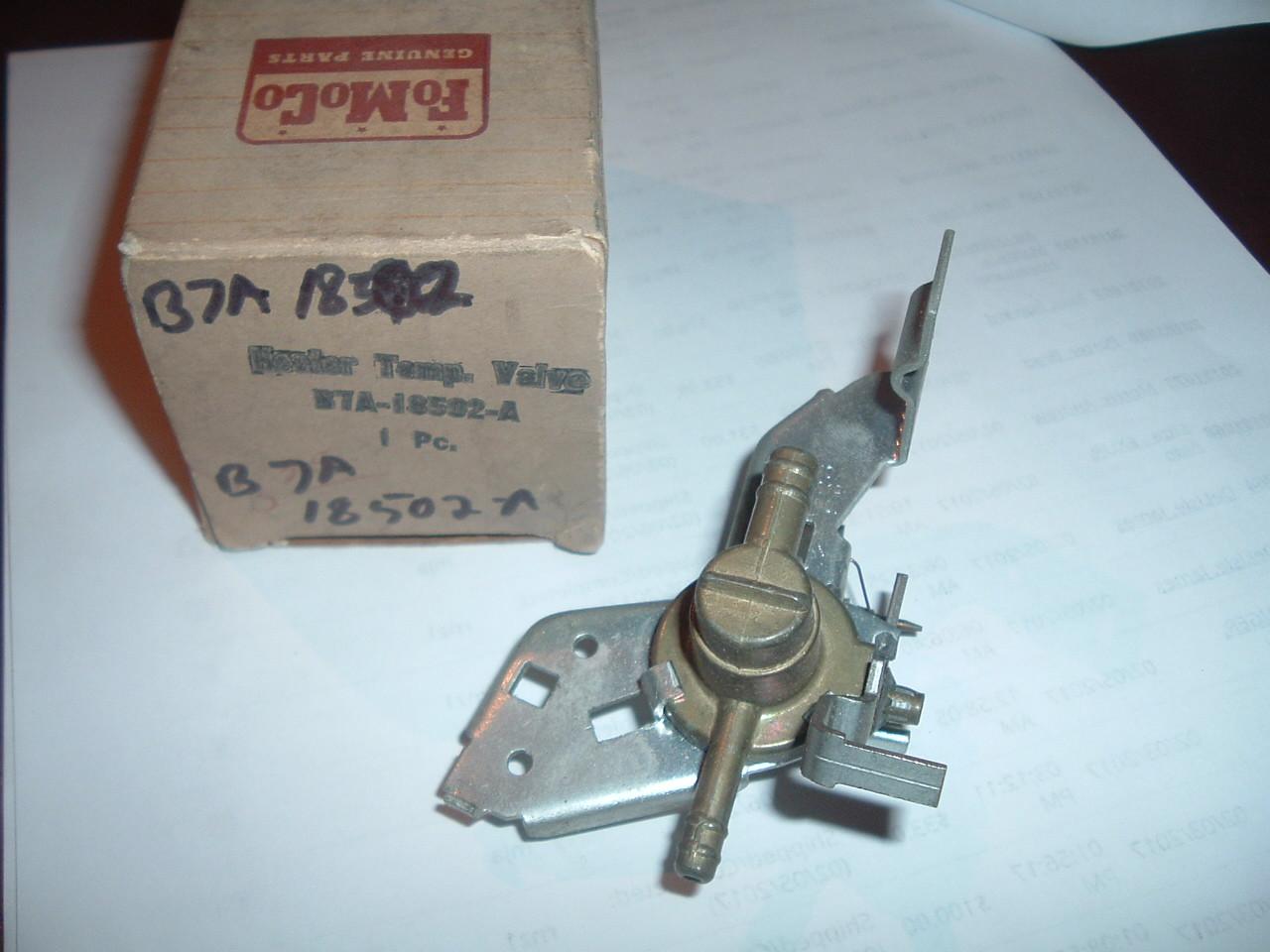 1957 58 59 60 Ford & Thunderbird heater sensing unit nos ford B7A-18502-A (z b7a18502a)