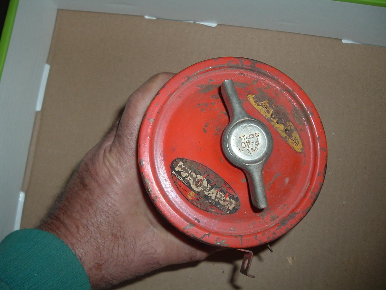 Nash remote oil filter new purolator 1941 42 46 47 48 49 ambassador & 600 era (1) (z p434)