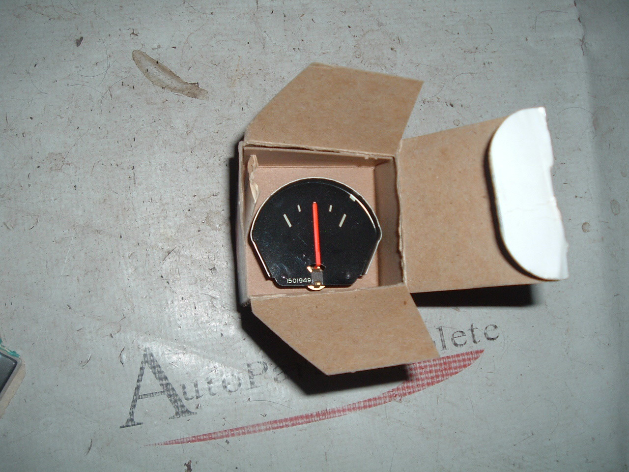 1961 62 62 Chevrolet truck ammeter gauge – unit NOS GM #1501949 (z 1501949)