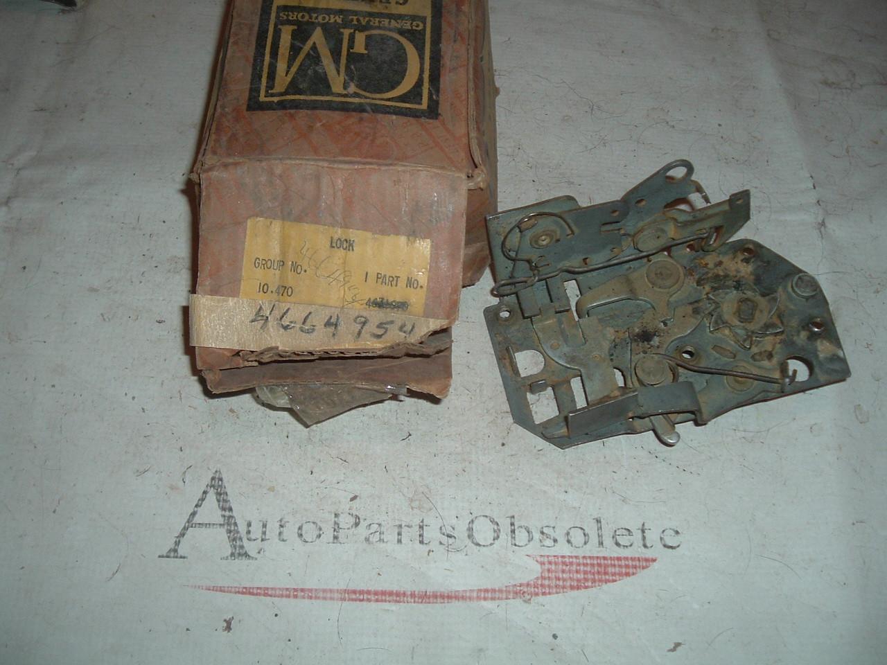1955 56 57 chevrolet pontiac door lock latch nos gm 4664954 (z 4664954)