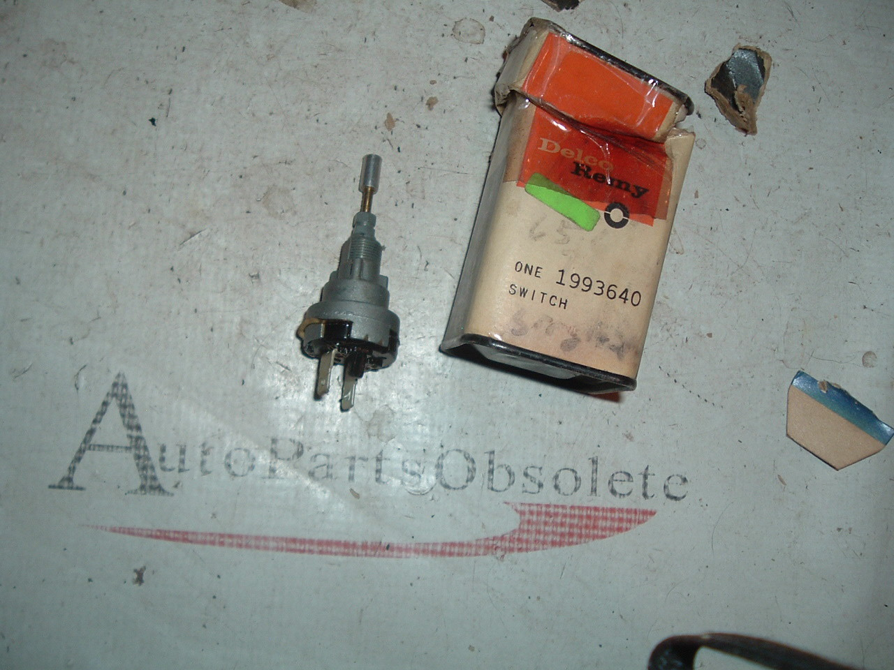 1964 1965 Chevrolet truck 1 speed windshield wiper switch with washer GM # 1993640 (z 1993640)