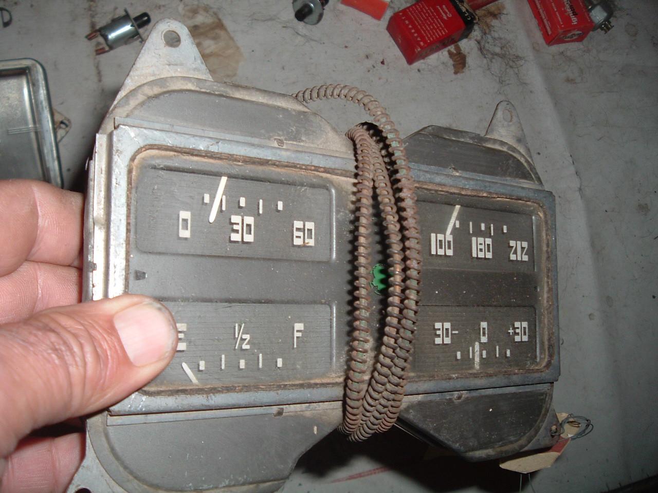 1937 packard gauge dash cluster (z 37packgauge)