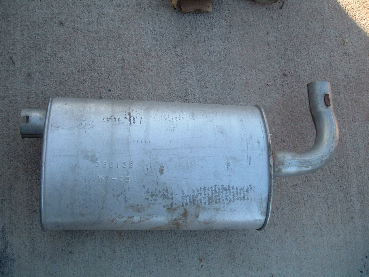 View Product1976 chevrolet vega monza muffler nos gm 366138 (z 366138)