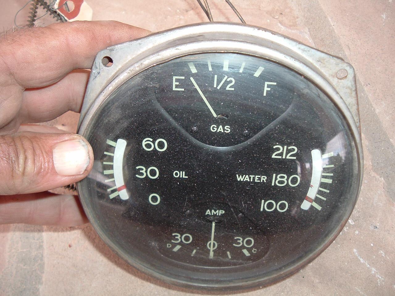 View Product1936 oldsmobile gauge dash cluster (z 36oldsgauge)