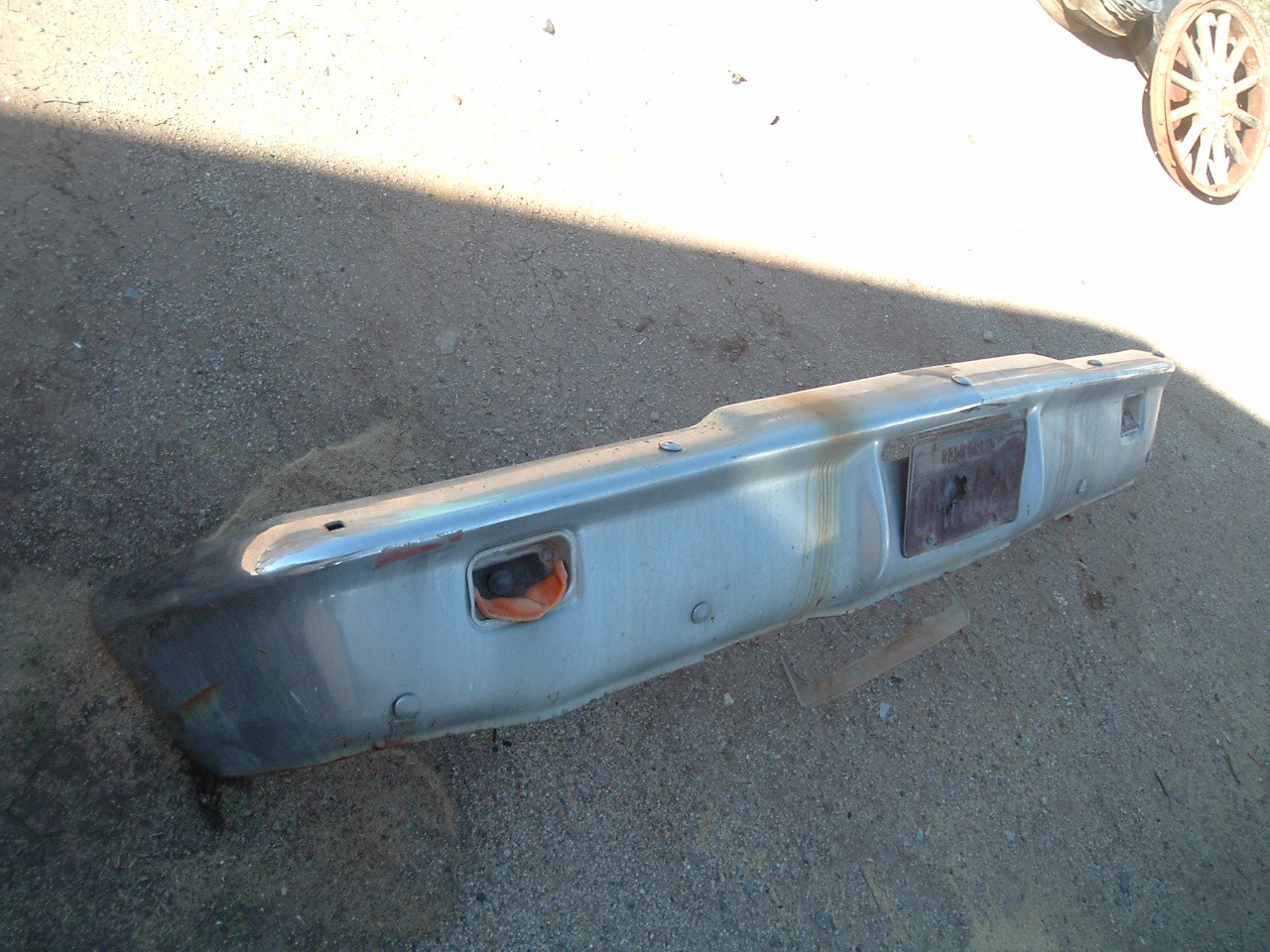 View Product1963 ford galaxie rechromed front bumper (z 1963 gal bumper)