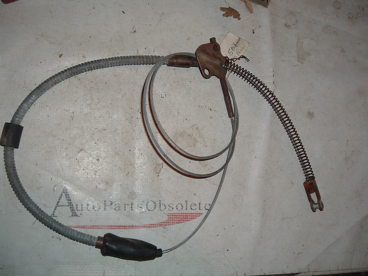 View Product1941 42 46 47 48 49 50 chevrolet emergency parking brake cable gm # 3691501 (z 3691501)