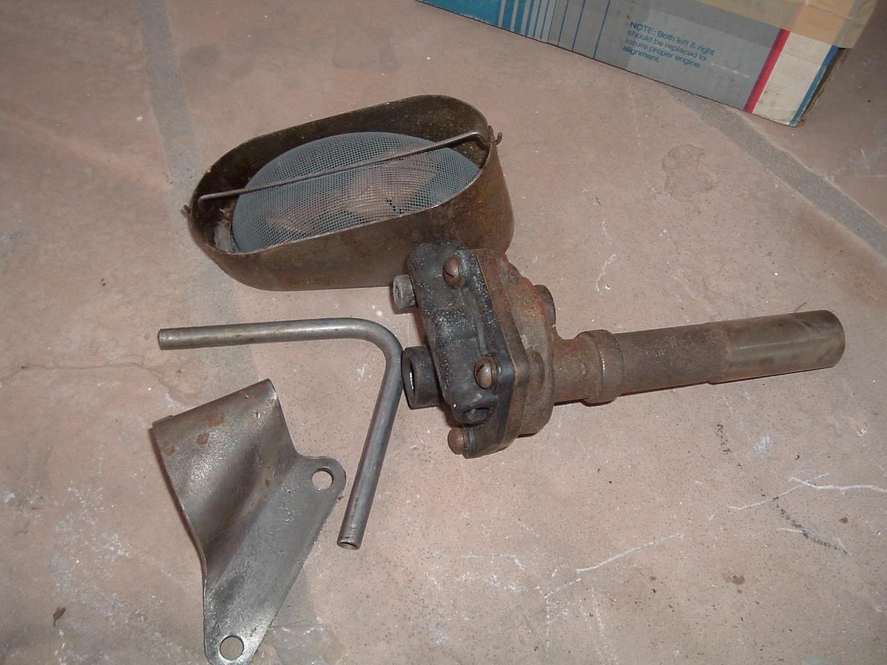 1937 1938 1939 chevrolet oil pump new gm # 838440 (z 838440)