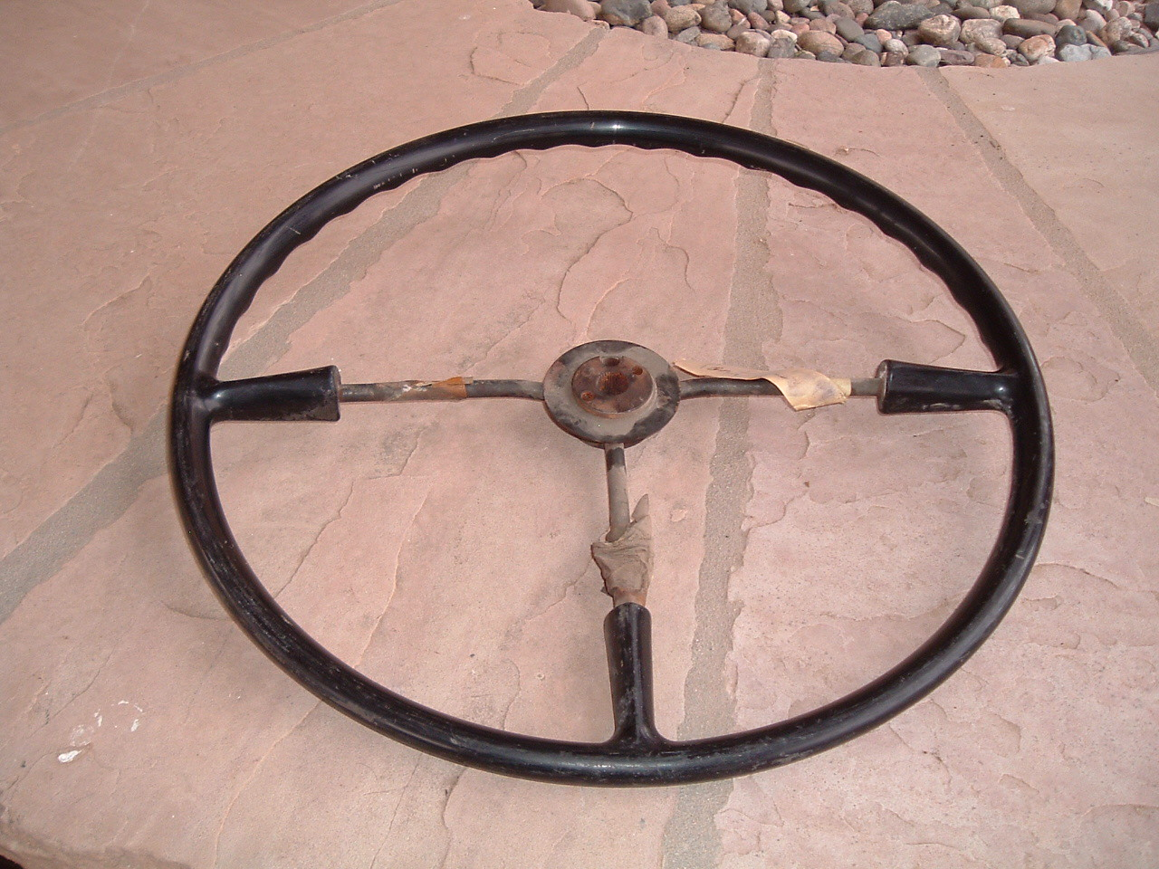 1949 1950 pontiac steering wheel nos gm 511645