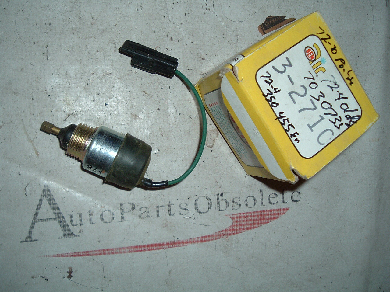 View Product1970 71 72 oldsmobile pontiac idle solenoid # 7030735 (z 7030735)