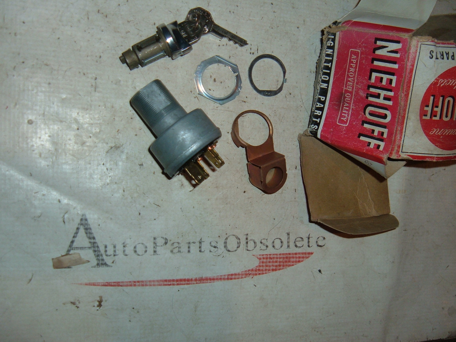 1960 1962 1964 1966 impala nova buick ignition switch /w keys # ks6101 (z ks6101)