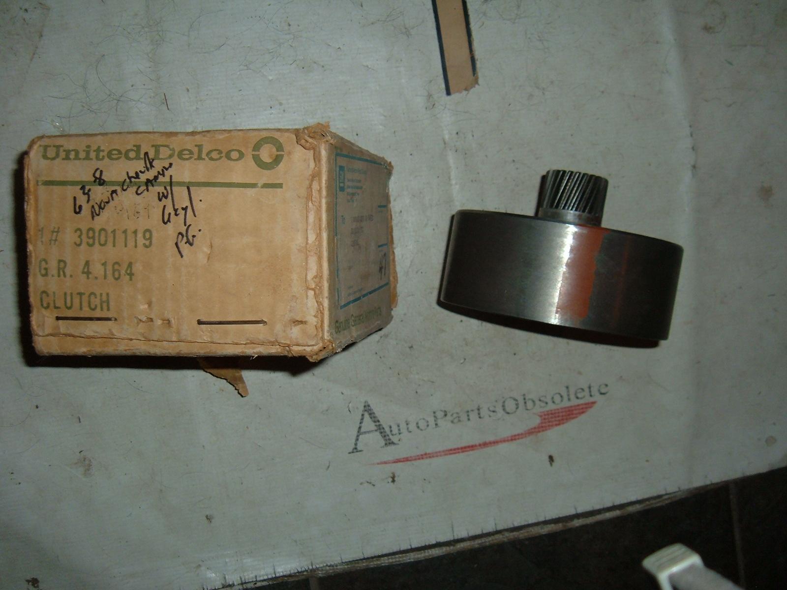 View Product1963 64 65 66 67 68 chevrolet nova chevelle powerglide transmission clutch nos gm # 3901119 (z 3901119)